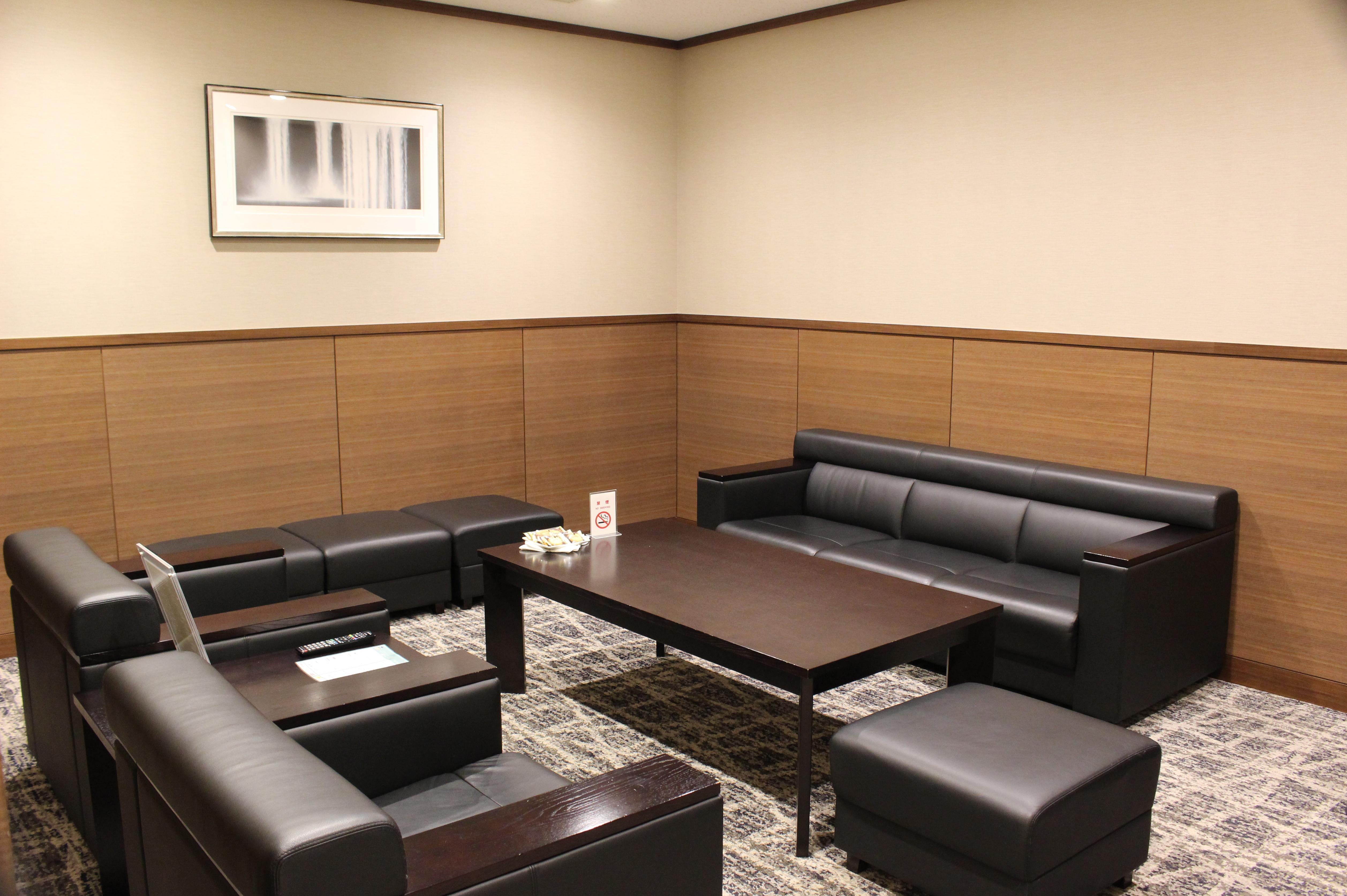 ビジネスジェット専用待合室