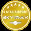 SKYTRAX社 5 Star Airports 4年連続獲得